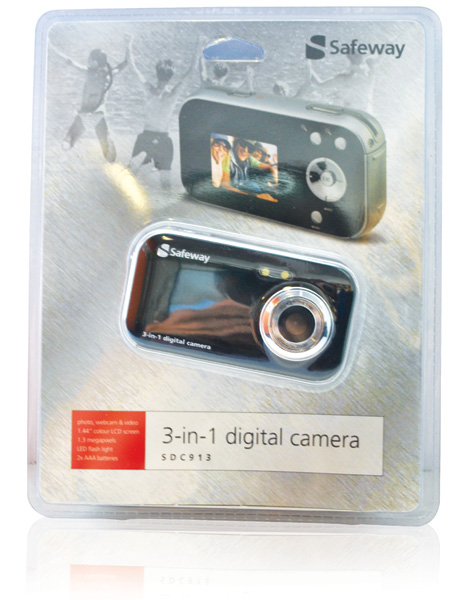 Safeway 3-in-1 digital camera