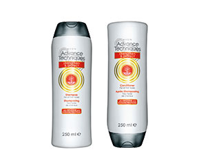 Avon Advanced Techniques Strengthen and Protect Shampoo and Conditioner