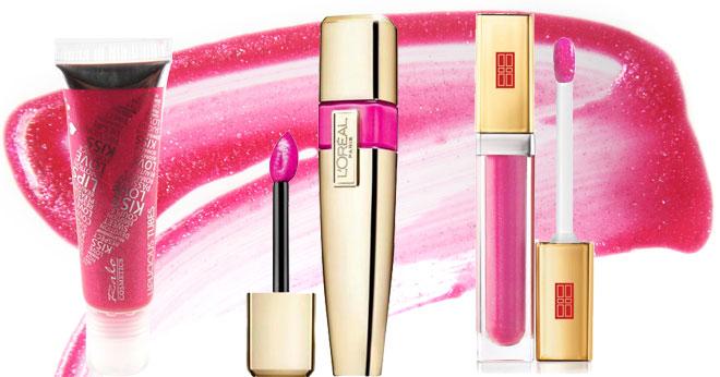 Lip gloss for summer