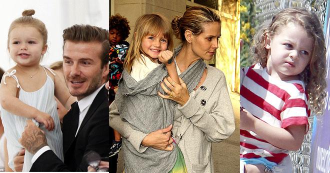 Hollywood's cutest celebrity children