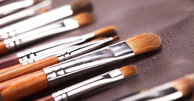 How to clean your make-up brushes