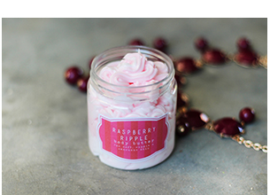 Hey Gorgeous Raspberry Ripple Body Butter