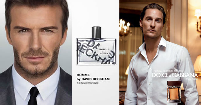 David Beckham and Dolce & Gabbana The One