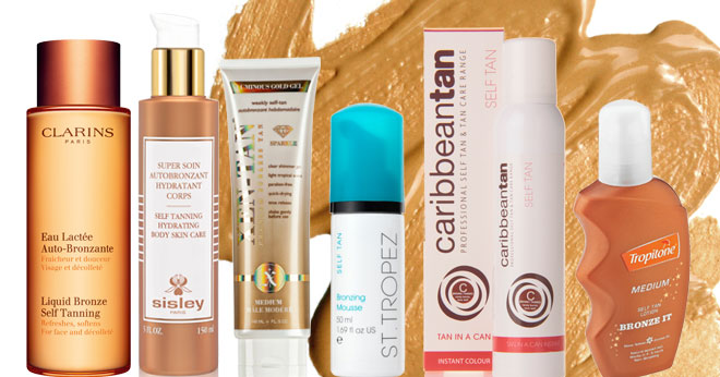 Self tanning products