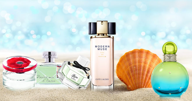 Sexy summer scents