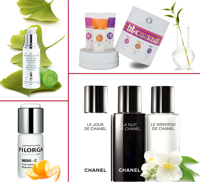 Skin detox booster products