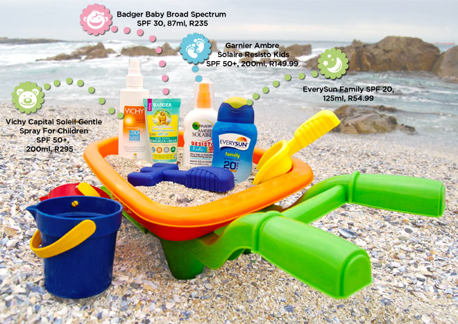 Baby-safe sunscreens