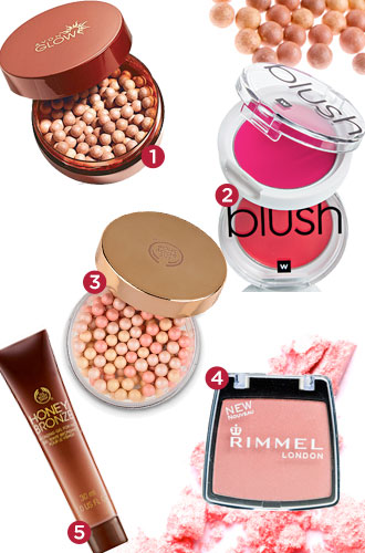 Bronzers and blushers reviewed in 2013