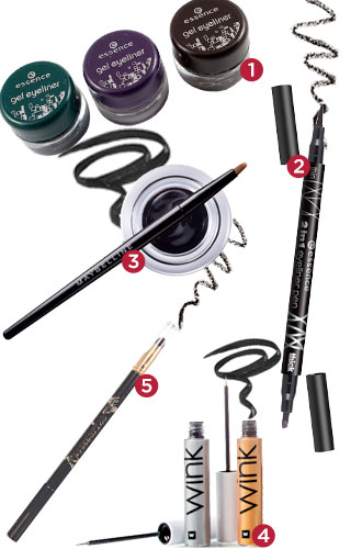 The most reviewed eyeliners of 2013