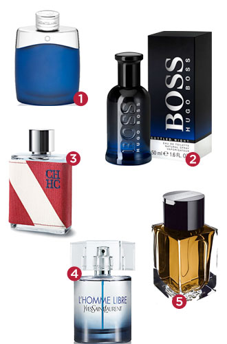 Most reviewed male fragrances