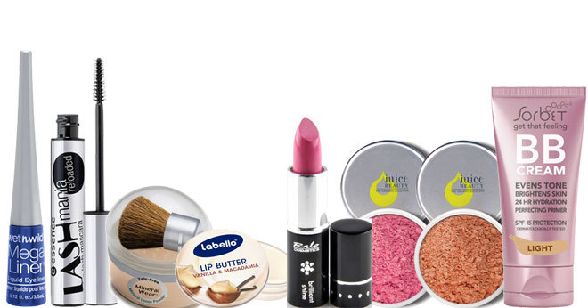 Budget make-up buys under R200