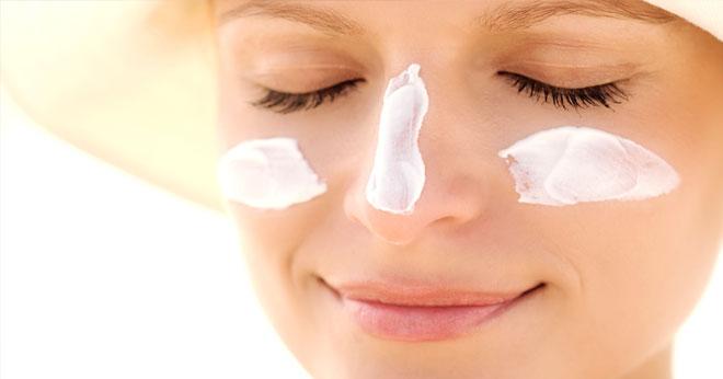 Can sunscreen burn my face?