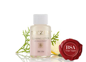 Sh'Zen Natural Essence Clearing Lotion