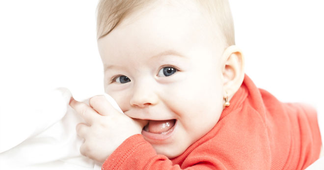 How to care for a teething baby