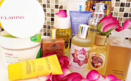 Body treats to indulge in at home