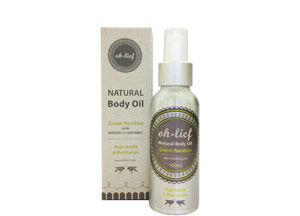 Oh-Lief Natural Body Oil with Green Rooibos & Roman Chamomile