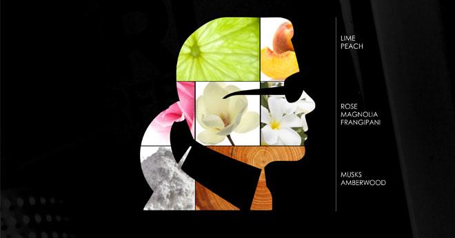 Karl Lagerfeld debut perfume