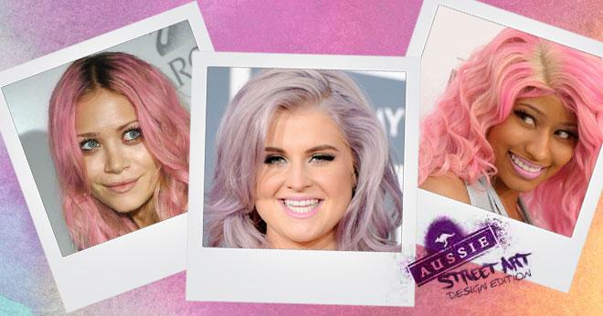Aussie pastel hair