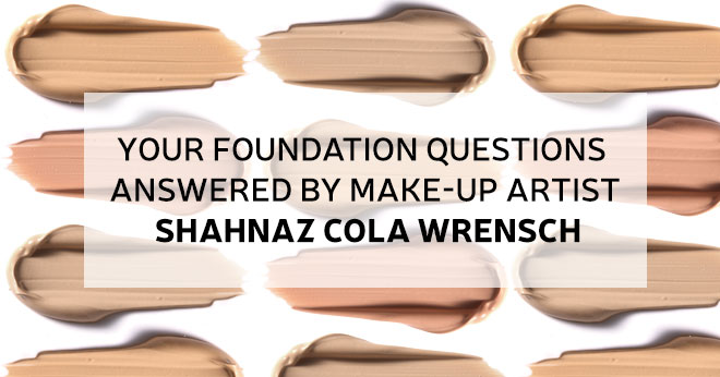 Make-up artist answers your foundation questions