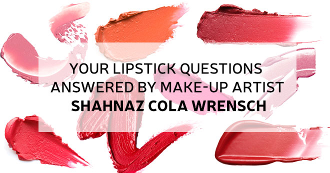 Lipstick questions answered