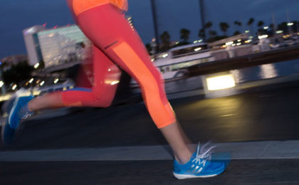 Running, jogging and sprinting brought to you by adidas