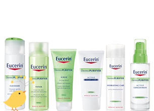 Win with Eucerin DermoPurifyer