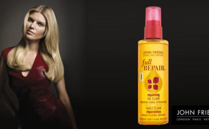 Rescue your hair with the Full Repair® range from John Frieda