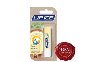 Lip Ice Natural Infusion Honey Cream