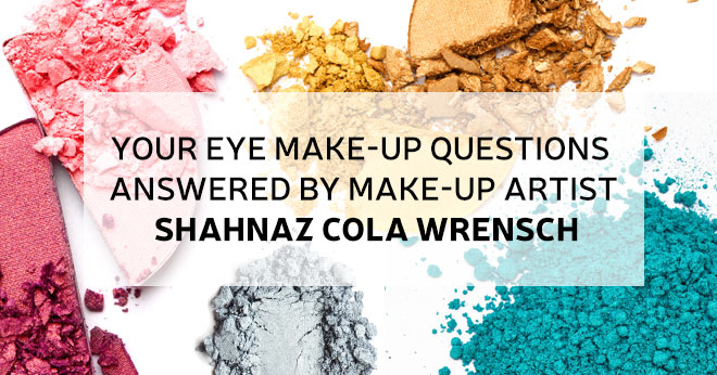 Shahnaz Cola-Wrensch answers your make-up questions
