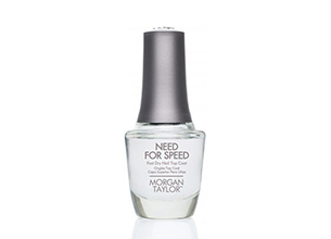Morgan Taylor Need For Speed Fast Dry Nail Top Coat