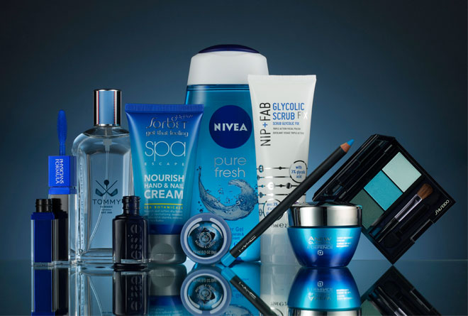 Blue-beauty-products