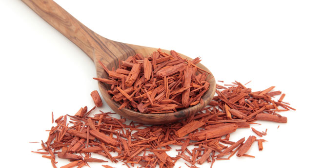 Looking at sandalwood