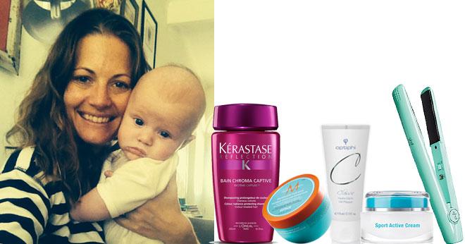 Blogger Kim Gray's beauty products