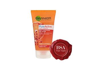 Garnier Skin Naturals Pure Active Daily Energising Gel Scrub