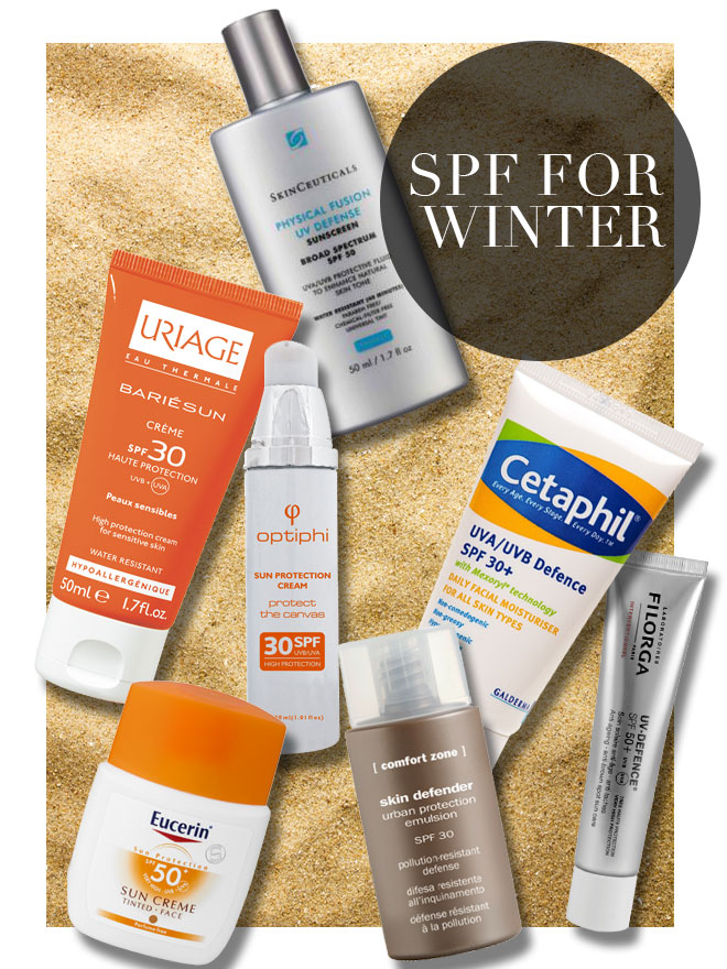 the importance of wearing an spf in winter