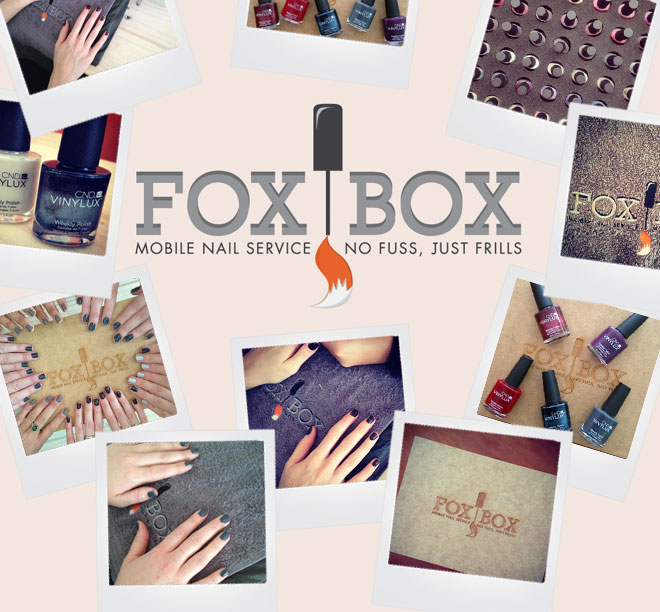 FoxBox travelling nail salon