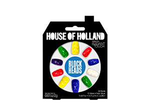 House of Holland Press-On Nails in Block Heads
