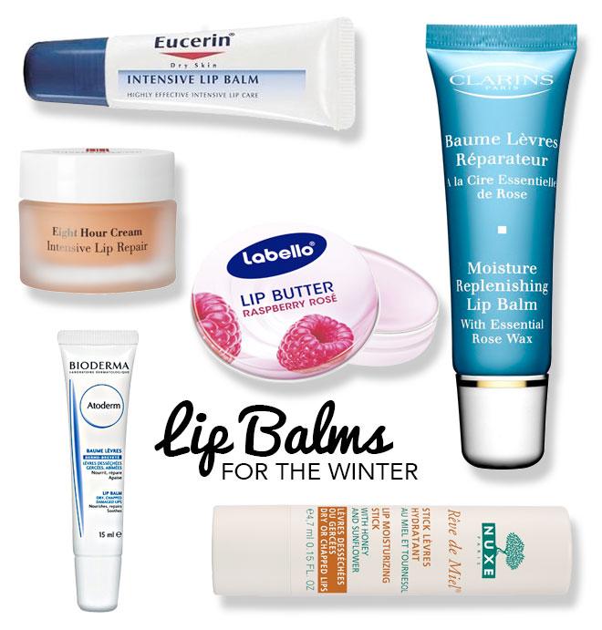 Lip balms for winter