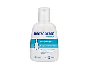 Benzaderm Oily Skin Moisturiser