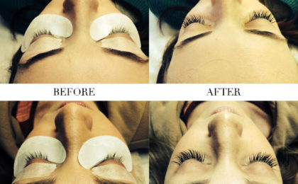 Treatment of the month: Luscious Lashes Eyelash Extensions