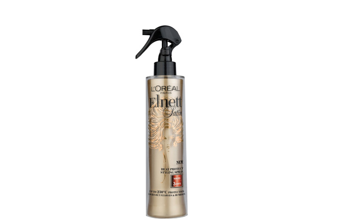L'Oréal Paris Elnett Satin Heat Protect Styling Spray 3-Day Curl