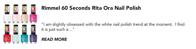 Rimmel Rita Ora nail polish