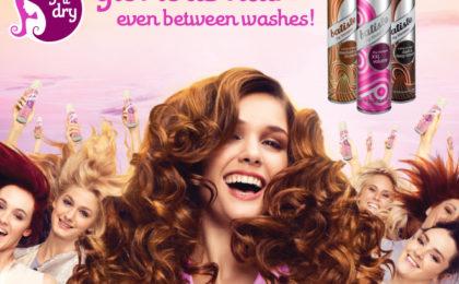 Freshen up with Batiste Dry Shampoo