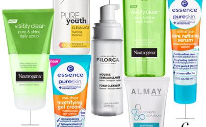 Mattifying skincare for teens