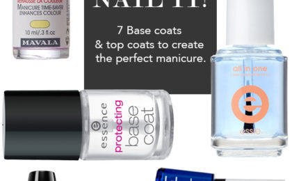 Our favourite base & top coats for the perfect manicure