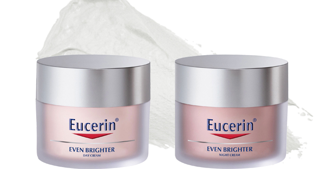 win eucerin even brighter skincare