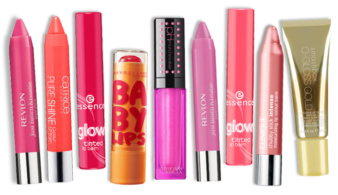 Tinted-lip-balms
