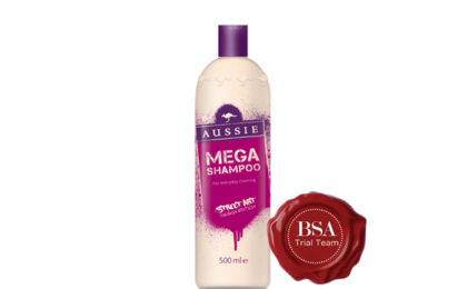 Aussie Mega Shampoo Street Art Limited Edition Trial Team