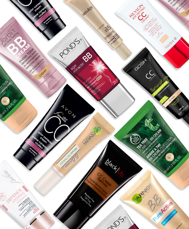 Bb creams and CC creams we love