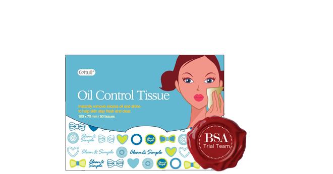 Cettua Oil Control Tissues